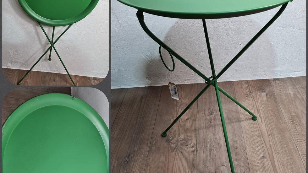 Klapptisch Retro in grün