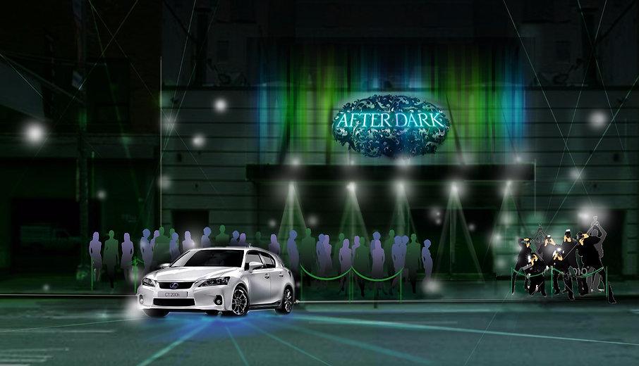 SUGARWICK created social media buzz for Lexus via launch events and intercept marketing