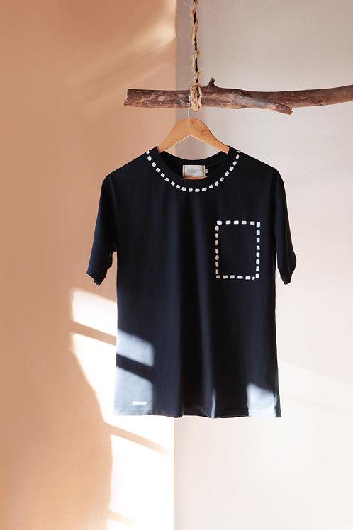 Camiseta Croqui - preta