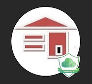 Starter Home Rentals Logo with Tenant Cloud Verified Symbol