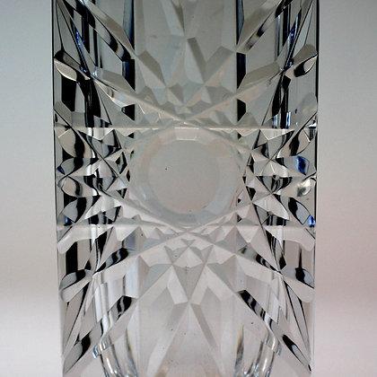 Edenfalk Sunburst Crystal Vase