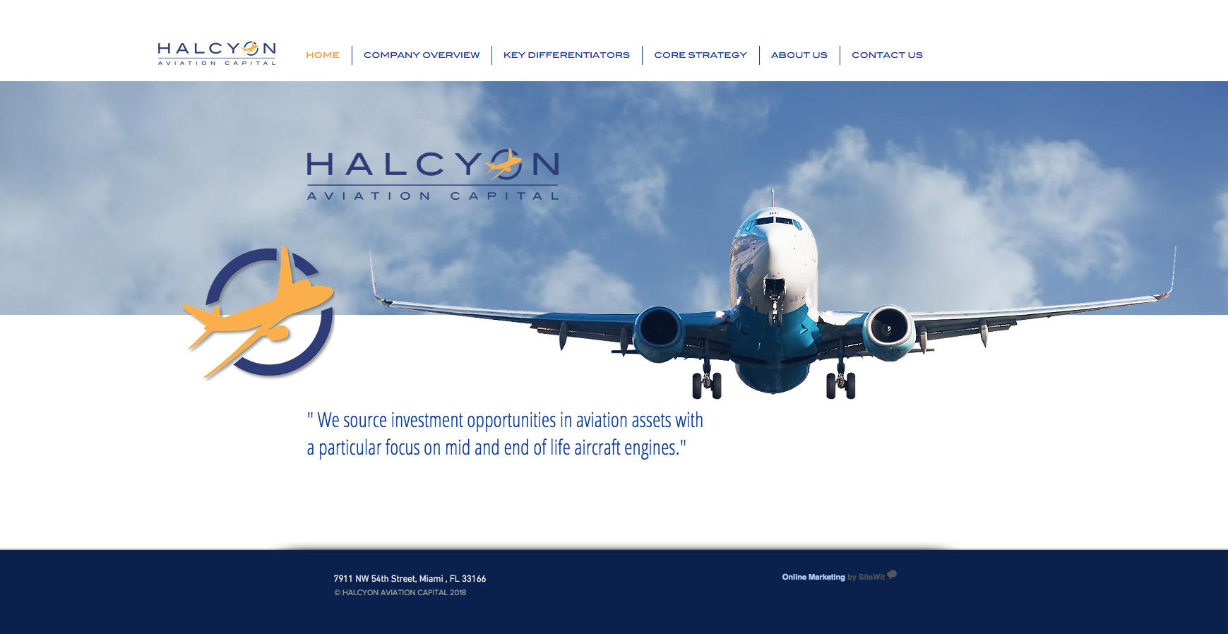 Halcyon Aviation Capital
