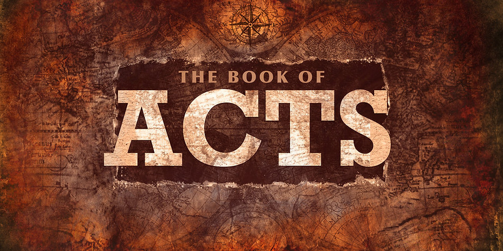 Current Equipping Class: The Book of Acts (1)