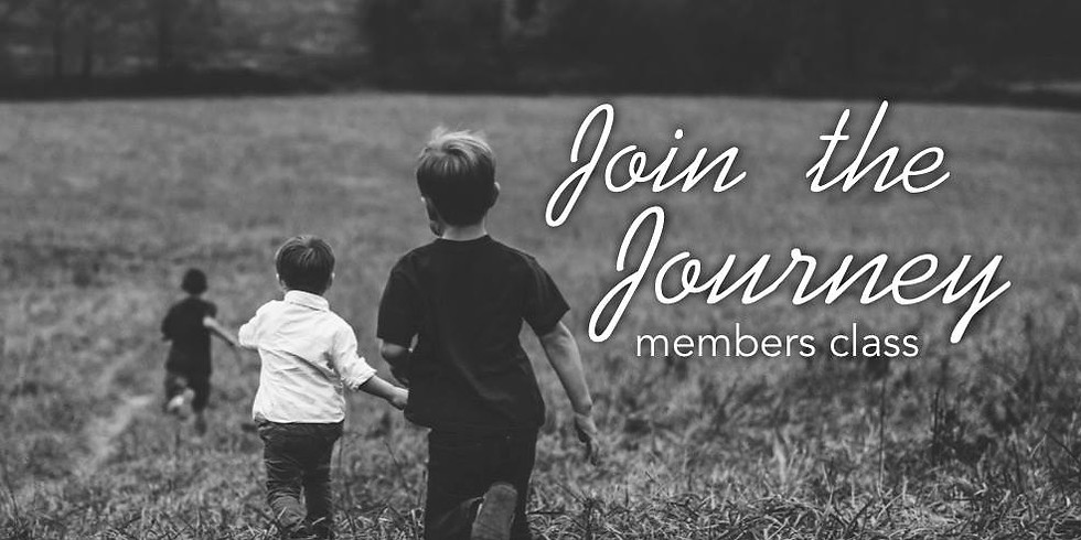 Join the Journey: New Members Class