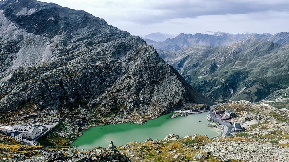 Garnd St. Bernard Pass, Italy-Swiss