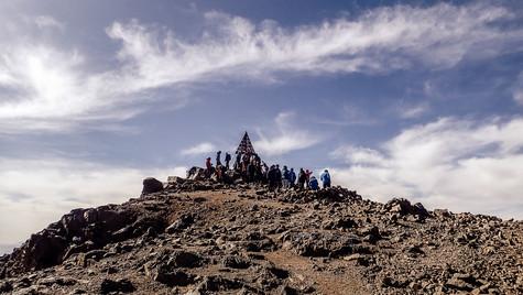 Toubkal Peak [ 4,167m | 13, 671 ft], Atlas Mountains, Morocco