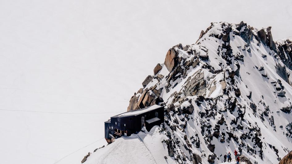 Cosmique Hut, Chamonix-Mont Blanc, France