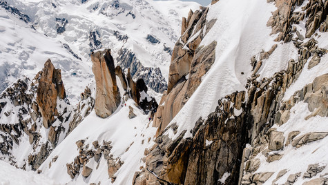 Cosmique ridge, Chamonix - Mont Blanc, France