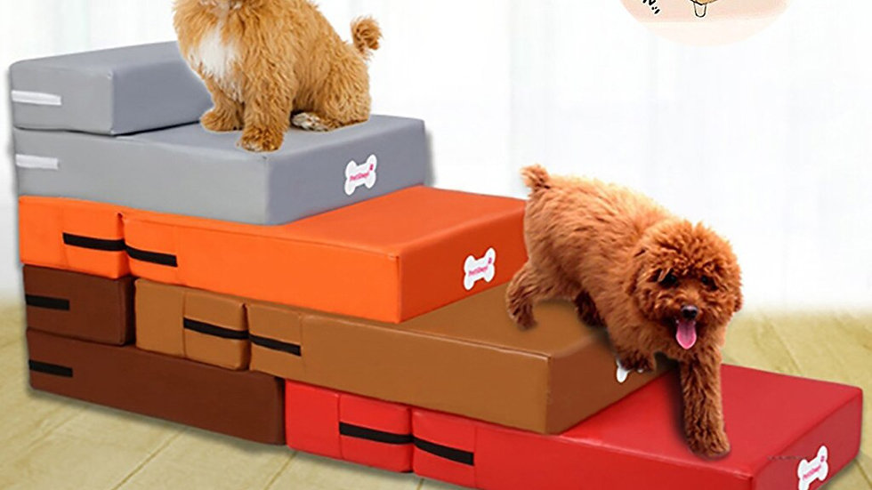 Waterproof Leather Foldable Pet Stairs
