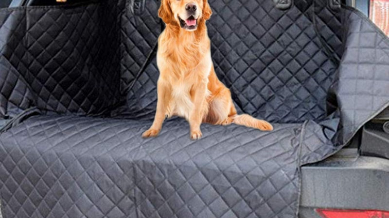Dog Car Seat Cover,Waterproof  Auto Trunk Seat Mat