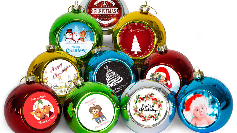 Christmas Bauble (Personalised)
