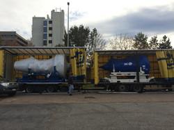 2  x PW4000 loading in BRU