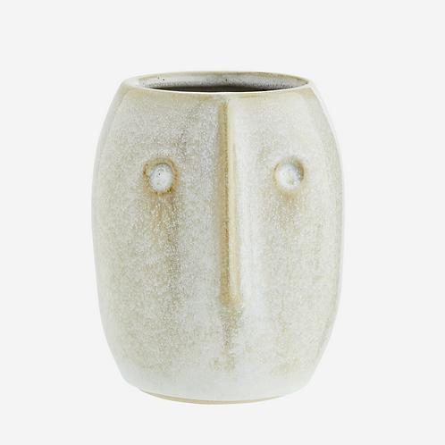 Vas, FACE, 8x10cm från Madam Stoltz