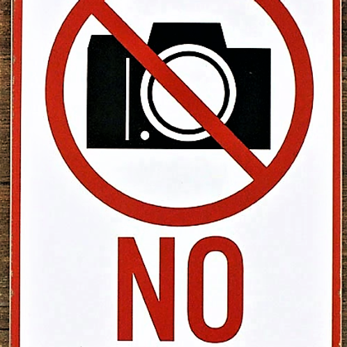 METALLSKYLT, NO PHOTO, 20x30cm