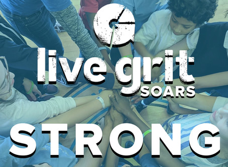 Live Grit SOARS STRONG