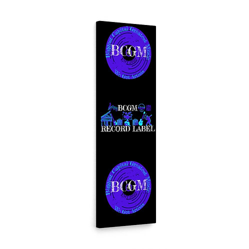 OFFICIAL BCGM LABEL Canvas Gallery Wraps