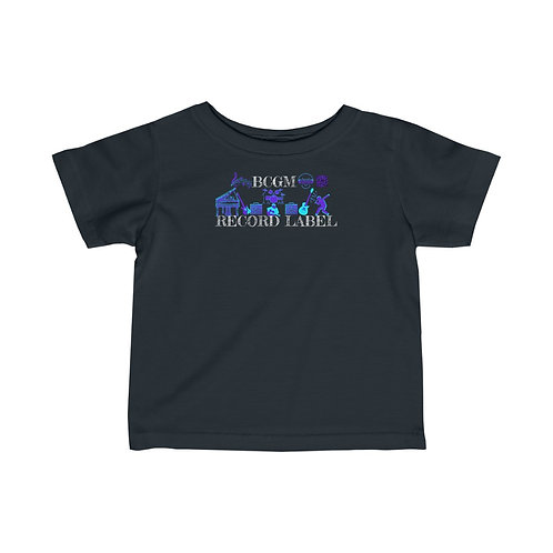 Infant Fine Jersey Tee OFFICIAL BCGM LABEL