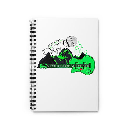 Never Stop What You Love Spiral Notebook - Ruled Line