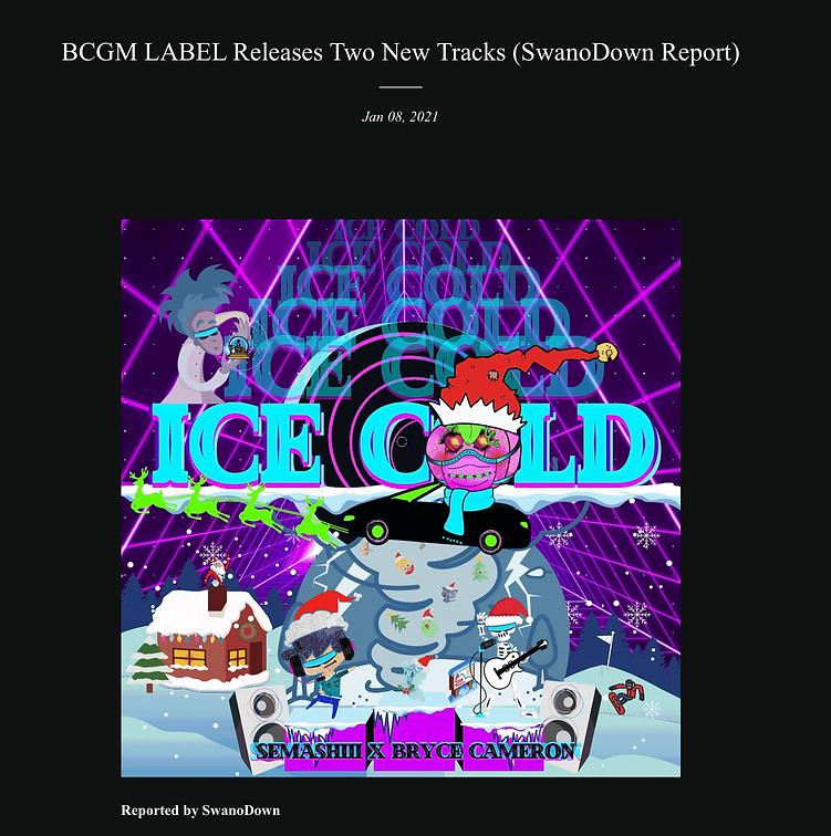 BCGMLABEL record label music audio Los A