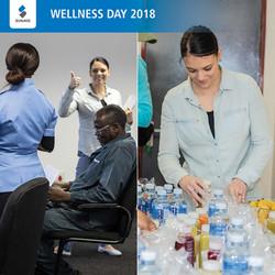 Hesti managing the Wellness Day