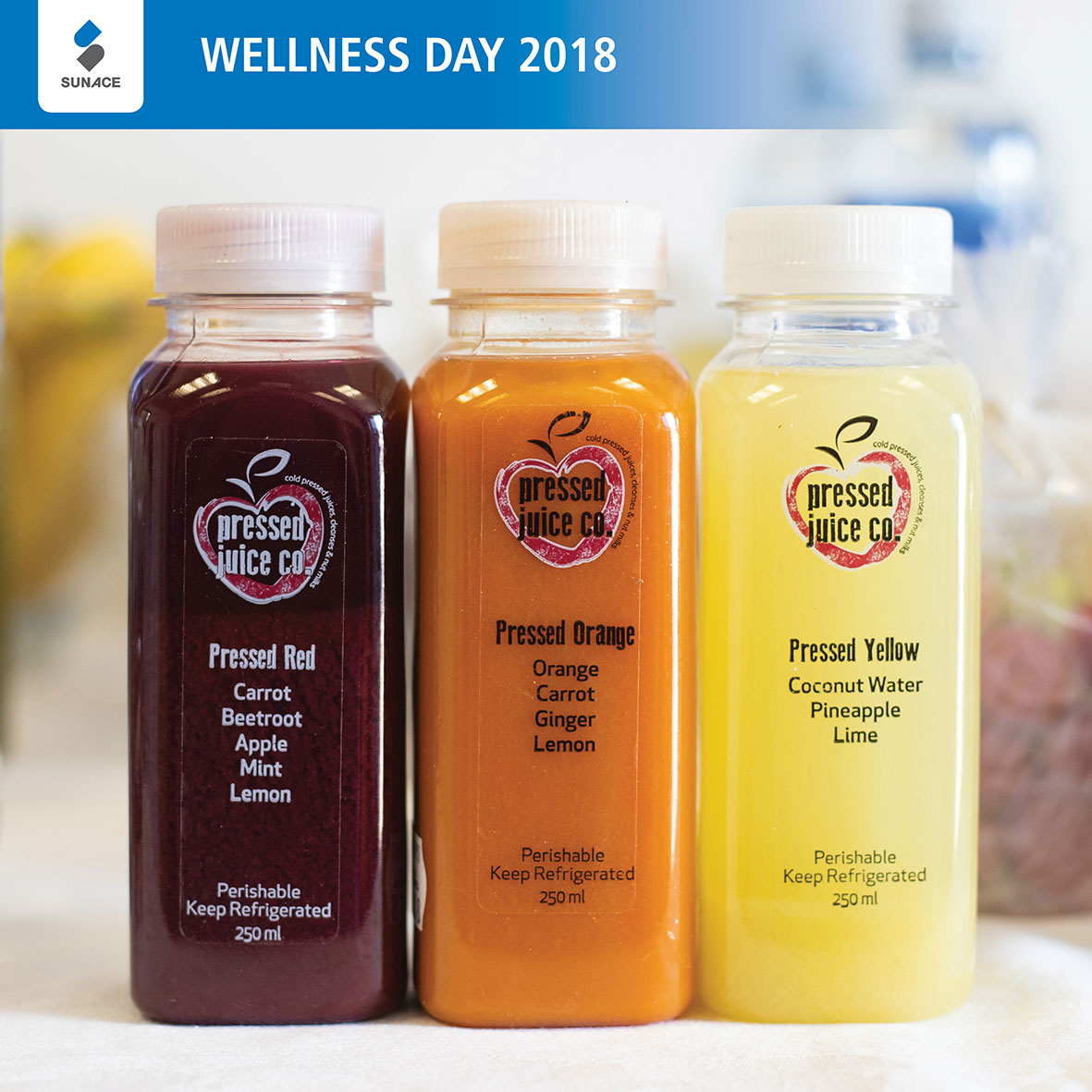 Wellness Day Pressed Juice Treats