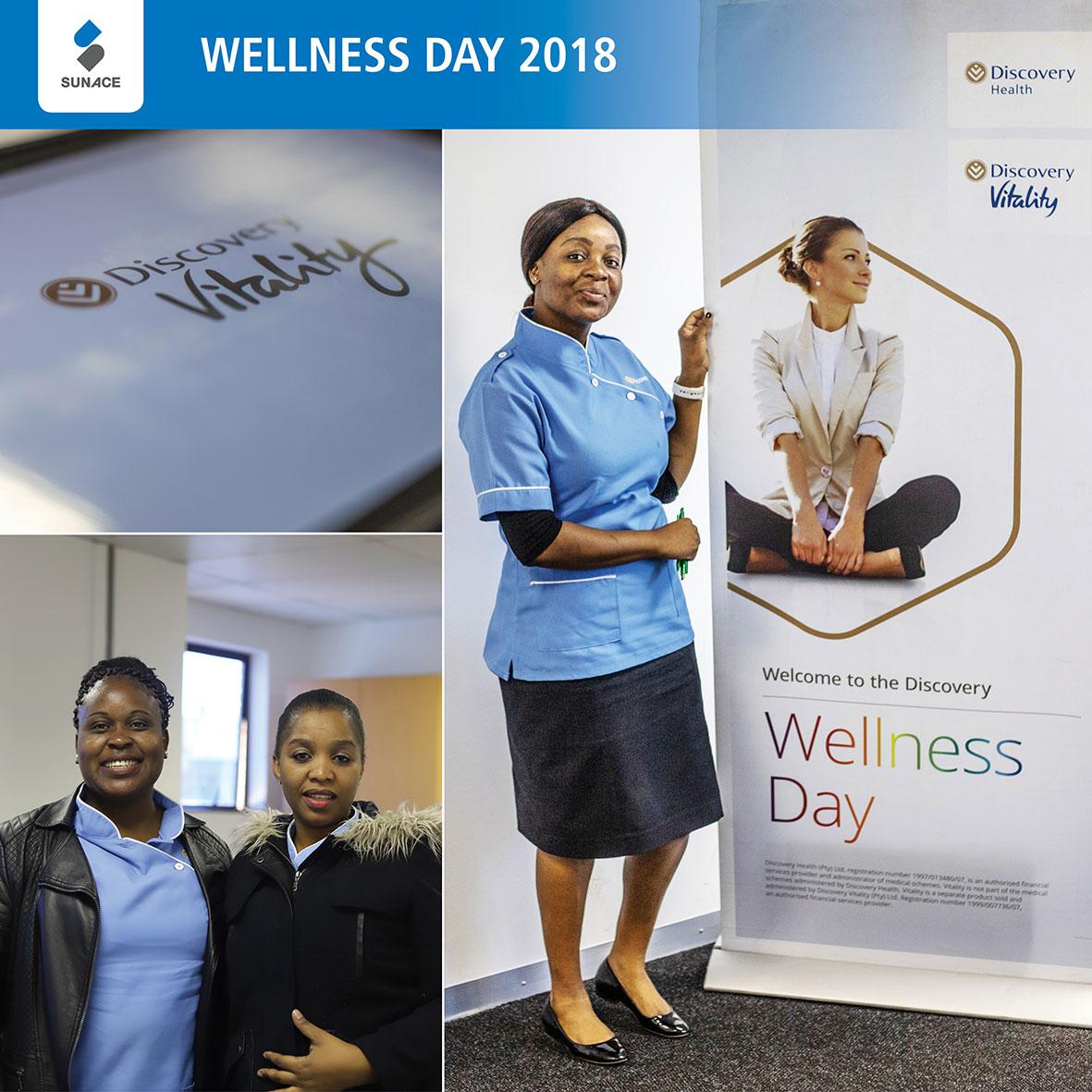 Wellness Day Discovery Health Team