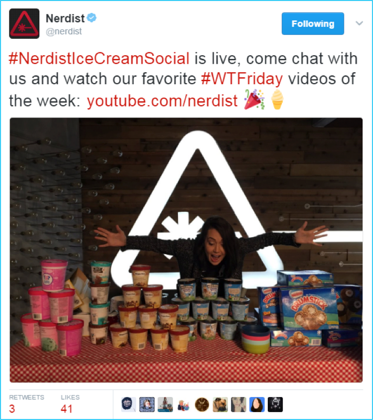 Influencer Outreach: Nerdist