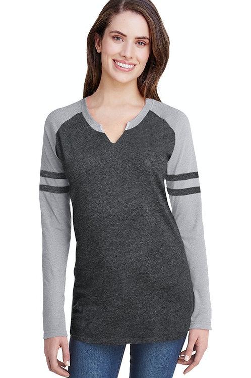 Gameday Mash-Up Long Sleeve Fine Jersey T-Shirt