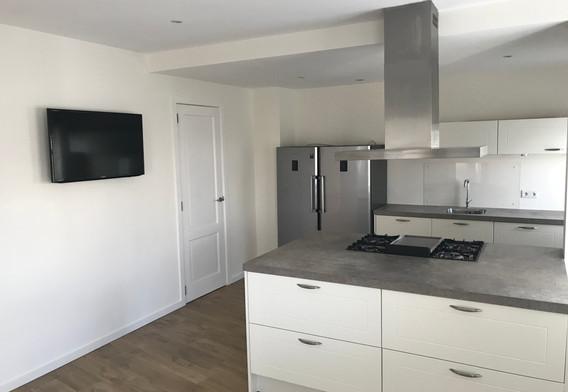 keuken met TV