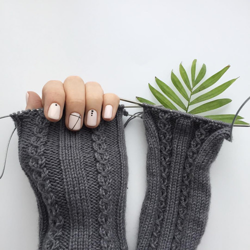 Gellak op  de naturlijke nagels