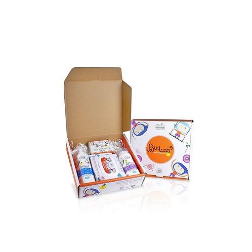 Organic Babycare Gift Box 6m, Biricco by Officina Naturae