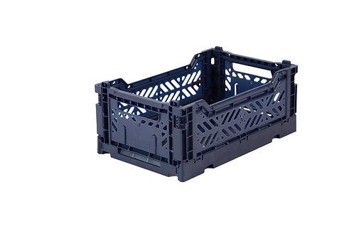 Mini Box Storage Crate - Navy, Aykasa