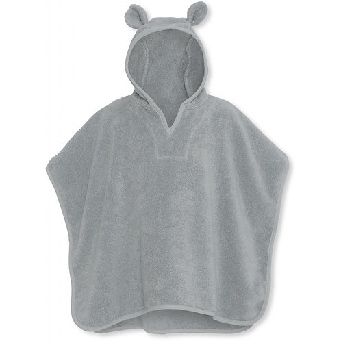 Organic Terry Kids Poncho French Blue, Konges Slojd