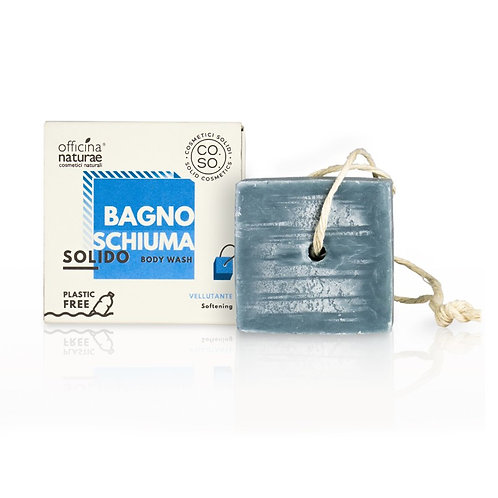 Organic Solid Body Wash Softening, CO.SO. by Officina Natur