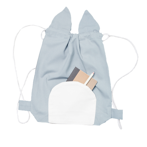 Animal String Bag Cuddly Cat, Fabelab