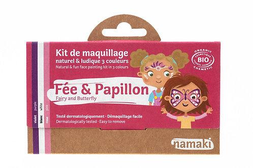 Organic Face Paint Kit Fairy & Butterfly, Namaki
