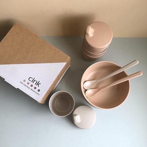 Bamboo Baby Dinnerware Rye & Fog, CINK