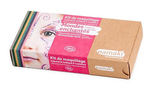 Organic Face Paint Kit Magical Worlds, Namaki