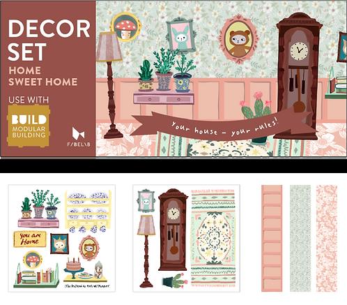 Decor Set - Home Sweet Home, Fabelab