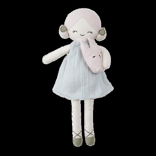 Organic Cotton Big Doll - Apple, Fabelab