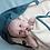 Organic Hooded Towel Baby Blue Spruce, Fabelab