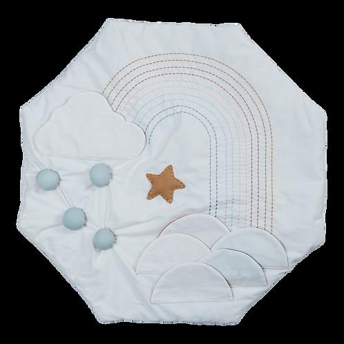 Organic Baby Activity Blanket Rainbow, Fabelab