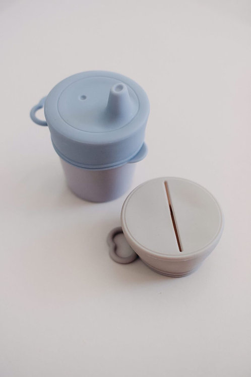 Sippy & Snack Lid Set Summer, Dove and Dovelet