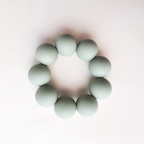 Odyssey Freezable Silicone Teething Toy - Sage, Dove and Dovelet