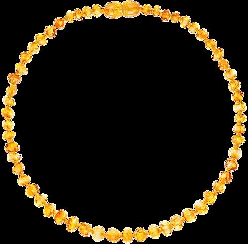 Premium Amber Necklace Honey, Amberos