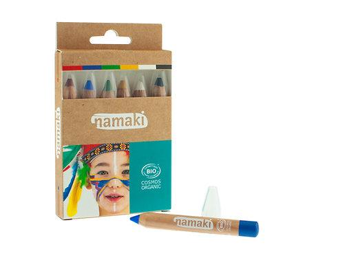 Organic Skin Color Pencils Magical World, Namaki