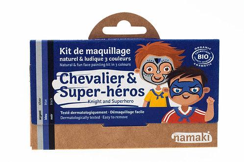 Organic Face Paint Kit Knight & Superhero, Namaki