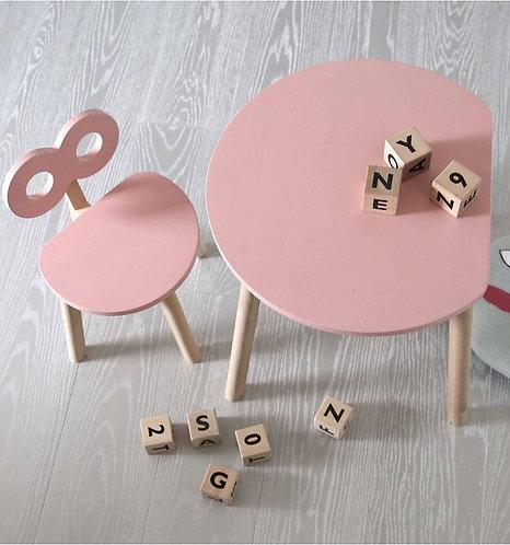 Half Moon Table Pink, Ooh noo