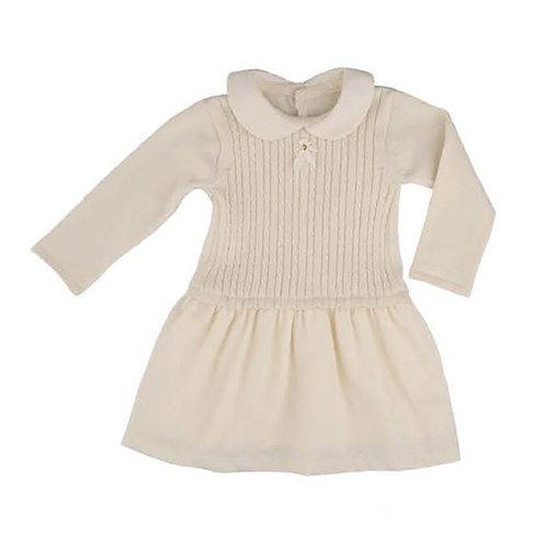 Organic Cotton Cable Knit Dress, Naturapura Organic Cotton Cable Knit Dress, Naturapura