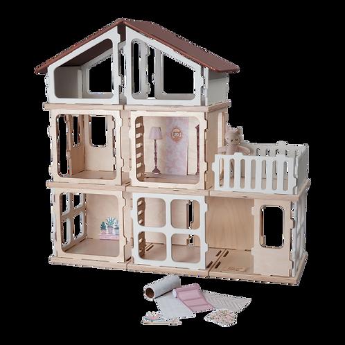 Fabelab Build - FSC Wood Toys - Add-on Villa, Fabelab